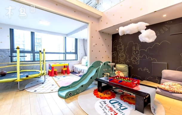 【童HAPPY】 有蹦床 可做饭 近西湖/浙大紫金港/两居室