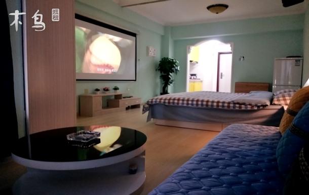 铁西新玛特附近巨屏投影地中海风情一居室