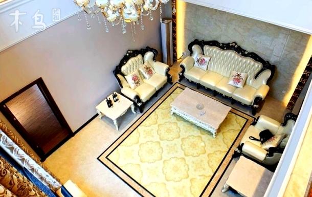 钻石级豪华温泉别墅9房16床+KTV豪华包厢+桌球+自动麻将