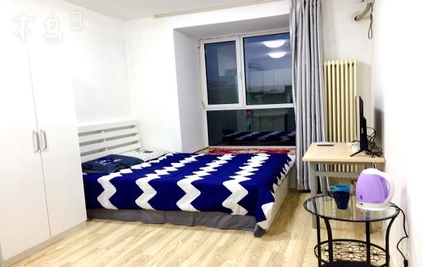 传媒大学现代精装简约风格一居室