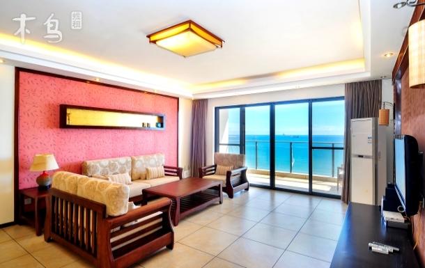 三亚湾 蓝色海岸 超大豪华海景三房两厅
