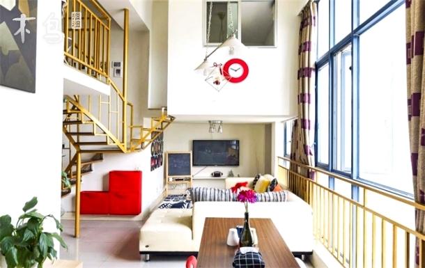 摩登情书loft两居室观景公寓/宽窄巷子