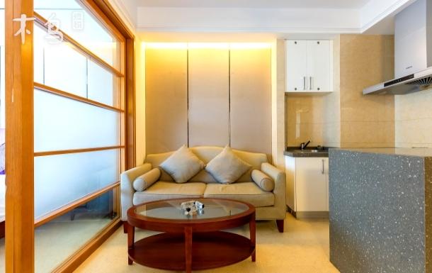 三亚凤凰水城南岸豪华家庭房连住4晚可接机 一居室