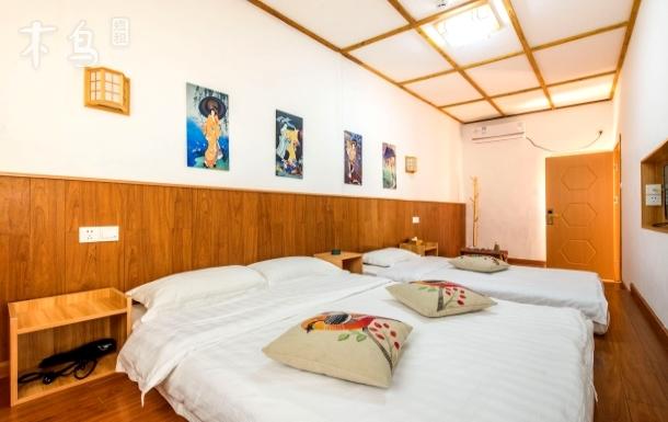 同里古镇内日式双床精装一居室