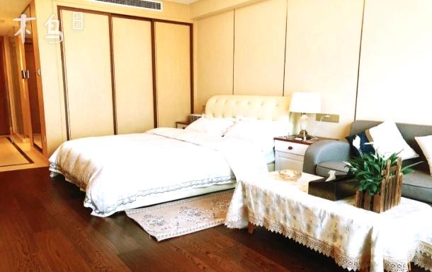 近黄龙西湖、运河,大兜路历史文化街区旁大床房