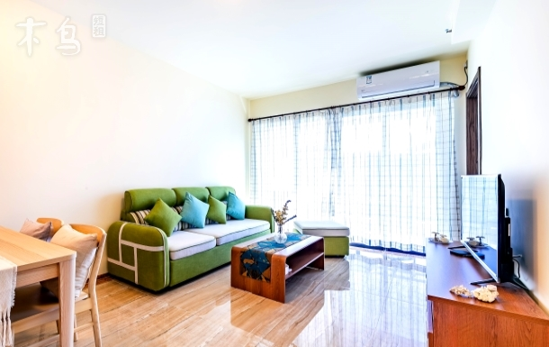 海棠广场 海岛风情民宿 齐瓦颂公寓两居室