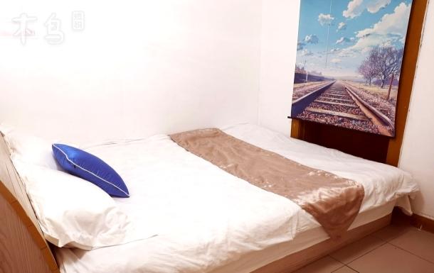 火车站二七广场单间经济大床房有空调可洗澡