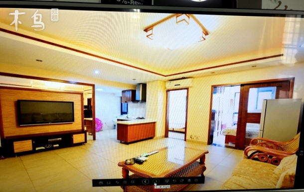 大东海 金茂海景花园 精装两室可做饭