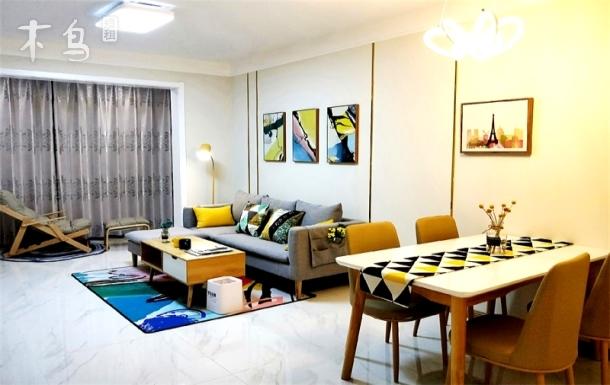 奥体万达广场乐购附近临近地铁轻轨简约现代 一居室
