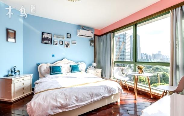 北外滩爱尚公寓豪华大床房外滩1.5公里