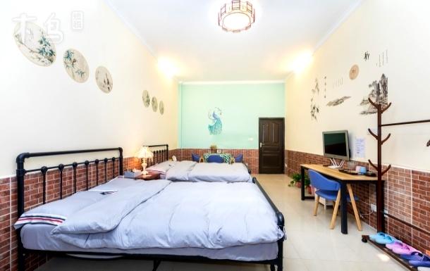 北外滩石库门老洋房特色一居室双床房