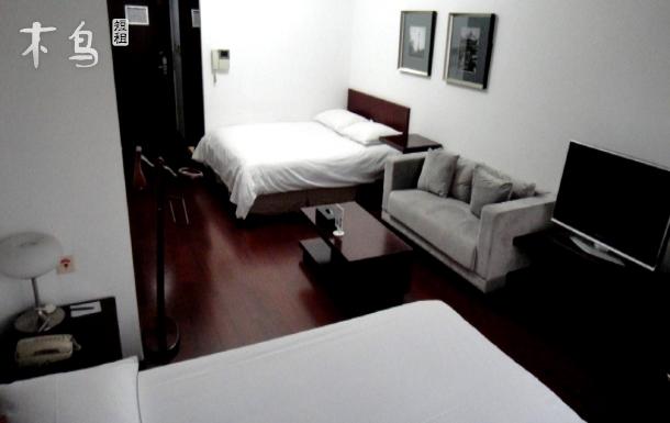 近徐家汇宜家庭一居室双床房