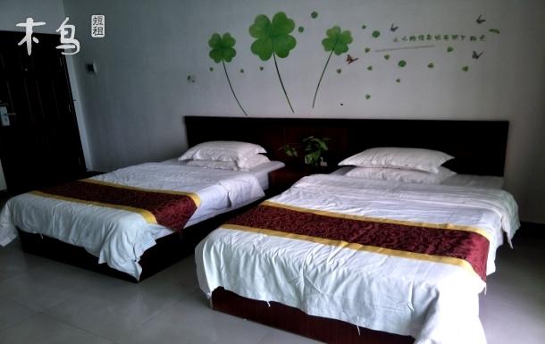 清真东寺附近整洁双床房