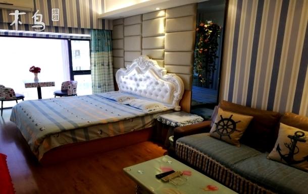 天润广场地中海风格 温馨而精美一居室