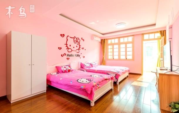 度假区周边周桥公寓Hello Kitty一居室