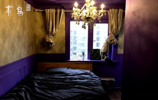 我宿home城西银泰对面整洁单间房