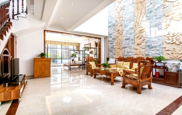 三亚湾悦时光临海度假别墅5居室
