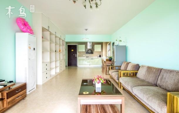三亚湾路 靓海度假公寓*舒适海景两房一厅