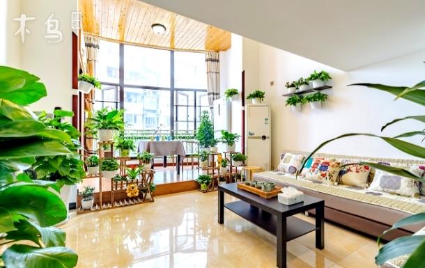 花园大阳台loft跃层500米春熙路发票 两居室