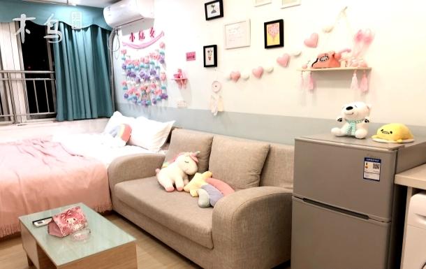 宽窄巷子独立卫生间享整个房地铁口温馨大床房5
