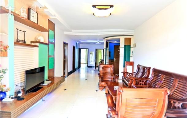 三亚湾巴哥海景公寓三房园景套房