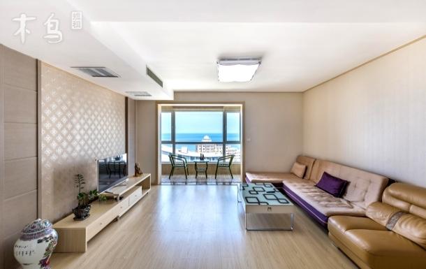 海水浴场仁泰大三室韩式装修海景房