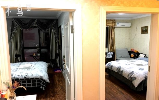 【优乐●軒】-江汉路步行街豪华北欧两居室