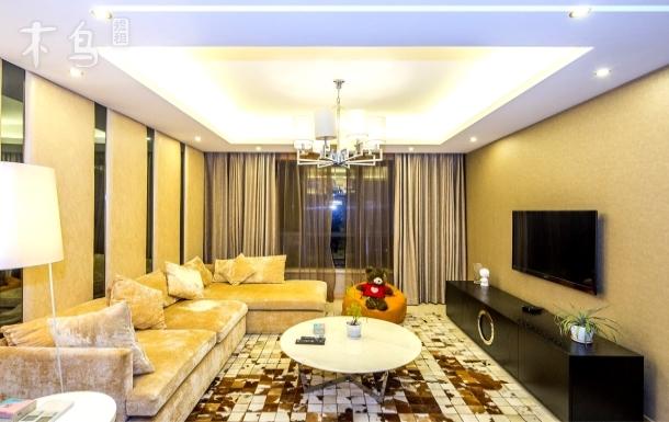 苏州河景观, 地暖中央空调 豪华装修三居室整租