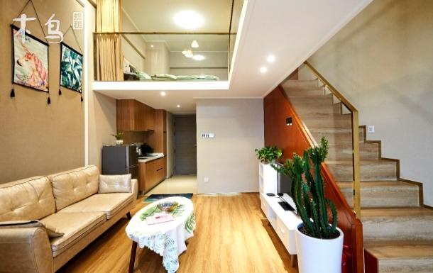 向江来26钱江新城 新式精装loft公寓 一居室