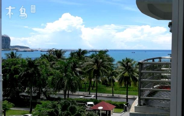 三亚湾海滨浴场近海海景两房两厅