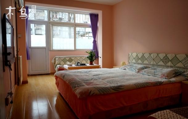 【美人鱼】山东路/延吉路/中央CBD/万象城一楼带院阳光舒适两居房