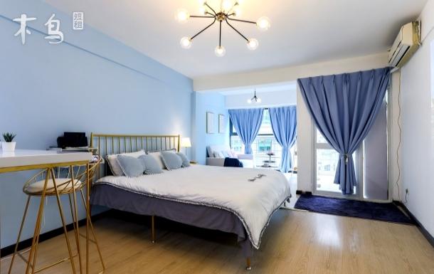【彩虹House·Blue】影院房太古里一居室