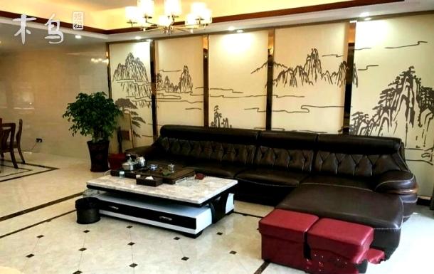 富力泉天下7房11床别墅+烧烤+麻将+温泉池+茶具+KTV+桌球+泳池