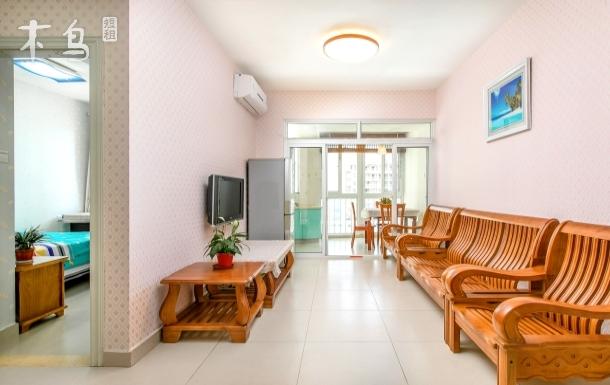 三亚湾椰梦长廊海边两室一厅(免费开火)