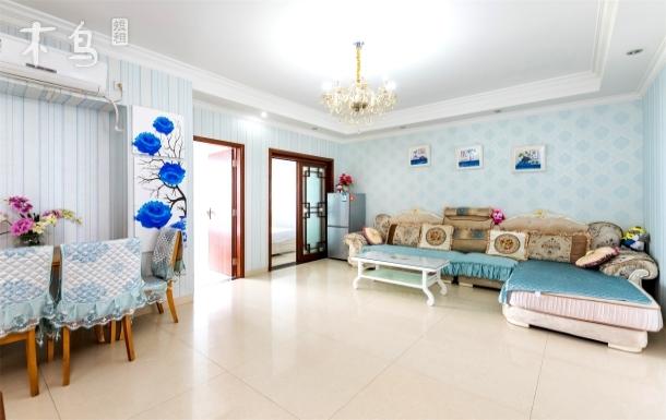 大东海浪漫鱼高层全景两房一厅