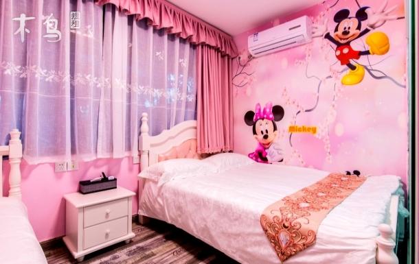 近邻迪士尼度假区欢乐米奇亲子房,含早餐和迪士尼班车接送