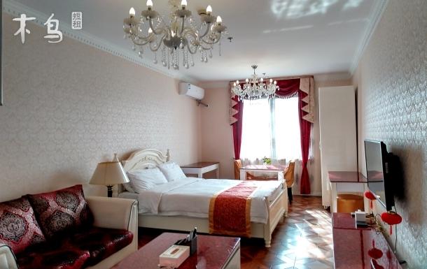 南桥上海之鱼5号线悦达欧式公寓民宿典雅大床房