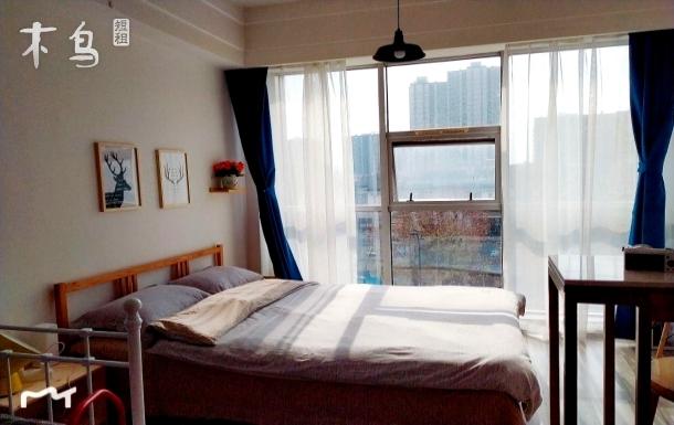 老杭城の智能时尚温馨居所,可住三人,近西湖和钱江新城4公里