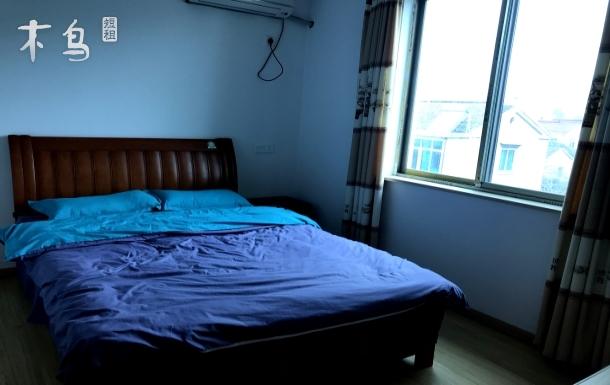 金庭镇陈家坞阳光充沛的山景大床房