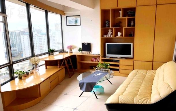 市中心南屏步行街超高挑高公寓一居室