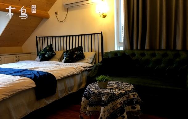 紧邻东平国家森林公园温馨大床房