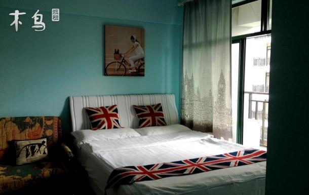 三亚阳光度假公寓园景大床房(1.5米床)