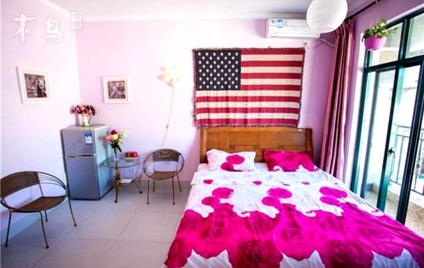 三亚阳光度假公寓高层园景大床房