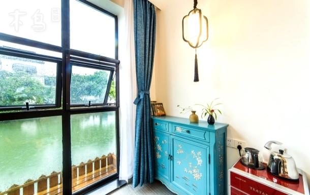 临河观景大床/枕水而居/多套河景设计风格 大床房