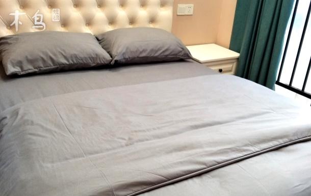 【苏昔家@小清新】温馨舒适新天地两居公寓