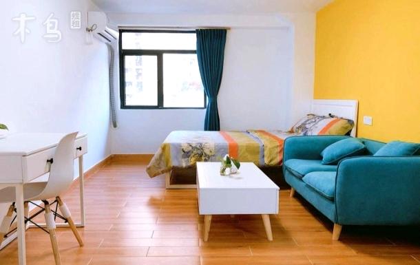福家公寓/温馨文艺清新/阳光房 可做饭一居室