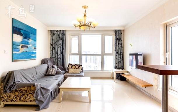 【橙途】长白/浴缸/滑梯/甜美loft 两居室
