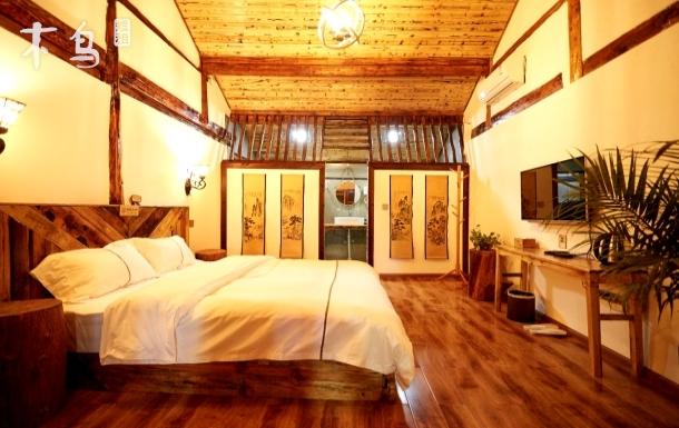 山水悠鸣*机场旁度假园林民宿*前园景温馨舒适大床房