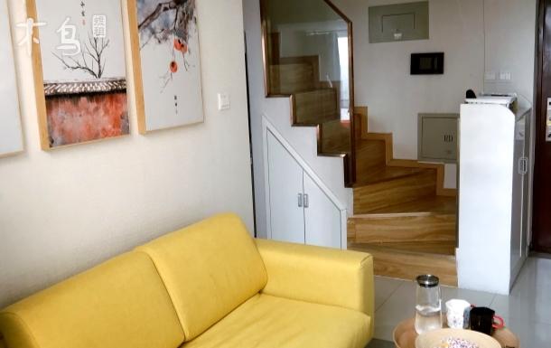 日式loft风格二楼整层主卧独立卫浴近地铁单间