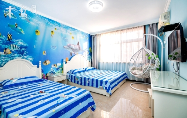 北戴河刘庄近海5分钟的海边公寓一居